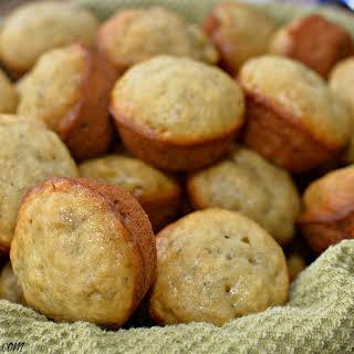 Mini Banana Muffins.