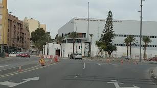Así está actualmente las obras de construcción de la rotonda