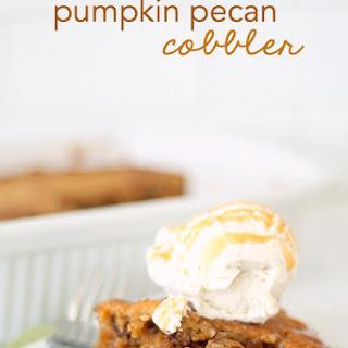 Pumpkin Pecan Cobbler