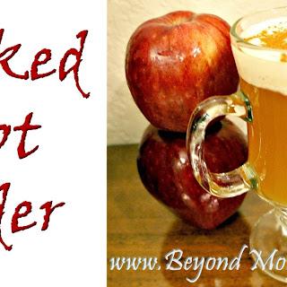 Spiked Hot Cider