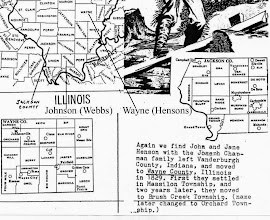 Photo: Johnson and Wayne Counties of the Illinois Ozarks. Ref: http://www.illinoisozarks.com/.  The seat of Wayne County is Fairfield. Leigh's favorite high school English teacher, Jack Bass, was from Fairfield. Leigh is grateful to his high school classmate and friend Brad Dye, also from Fairfield, for letting him know that at Fairfield in March 1860 Abraham Lincoln received his first official endorsement as the Republican presidential candidate: http://www.waymarking.com/waymarks/WM8P22_The_First_Official_Endorsement_of_Abraham_Lincoln_Fairfield_IL.