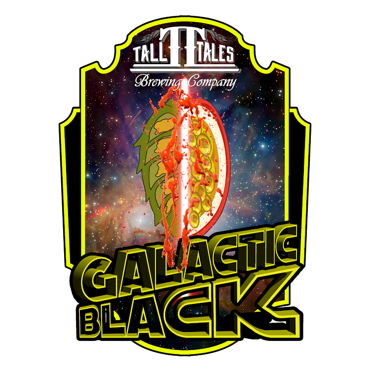 Logo of Tall Tales Galactic Black