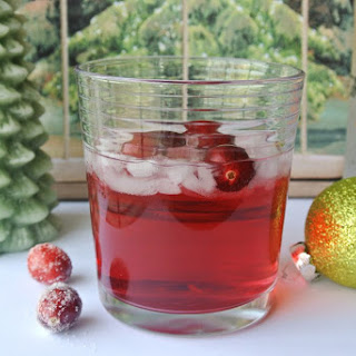 Cranberry Melon Vodka Tonic.
