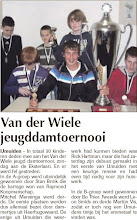 Photo: Van der Wiele jeugddamtoernooi. 3 februari 2011