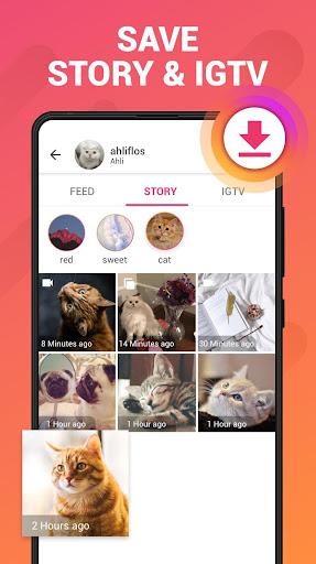 Story Saver for Instagram - Story Downloader 1.4.3 screenshots 1