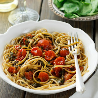 Spinach and Cherry Tomato Sauce.
