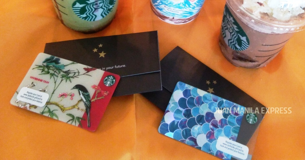 STARBUCKS PHILIPPINES PRESENTS VIVIENNE TAM STARBUCKS CARD AND SCALES CARD TO BE AVAILABLE THIS JUNE AND JULY 2016