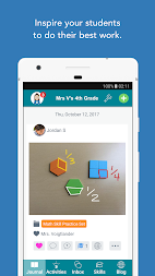 Seesaw: The Learning Journal APK screenshot thumbnail 2