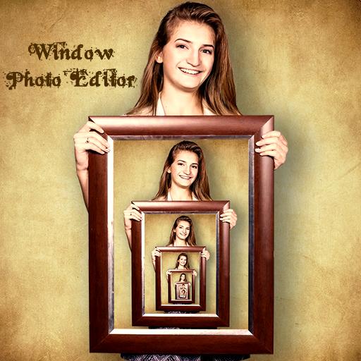 Window Photo Editor : Funny Droste Effects