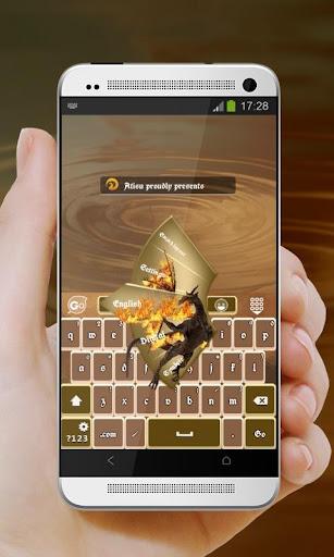 クールウイングス GO Keyboard