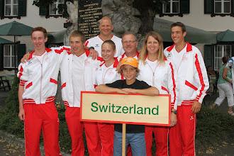 Photo: Team Switzerland at the ICF Wildwater Canoeing Junionrs World Championships