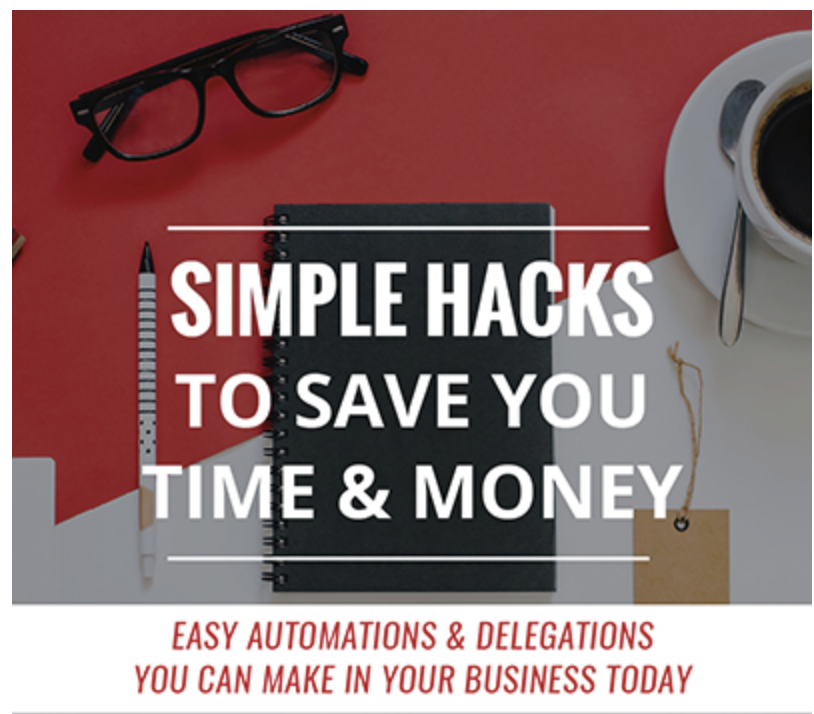 Simple Hacks to Save You Time and Money Webinar