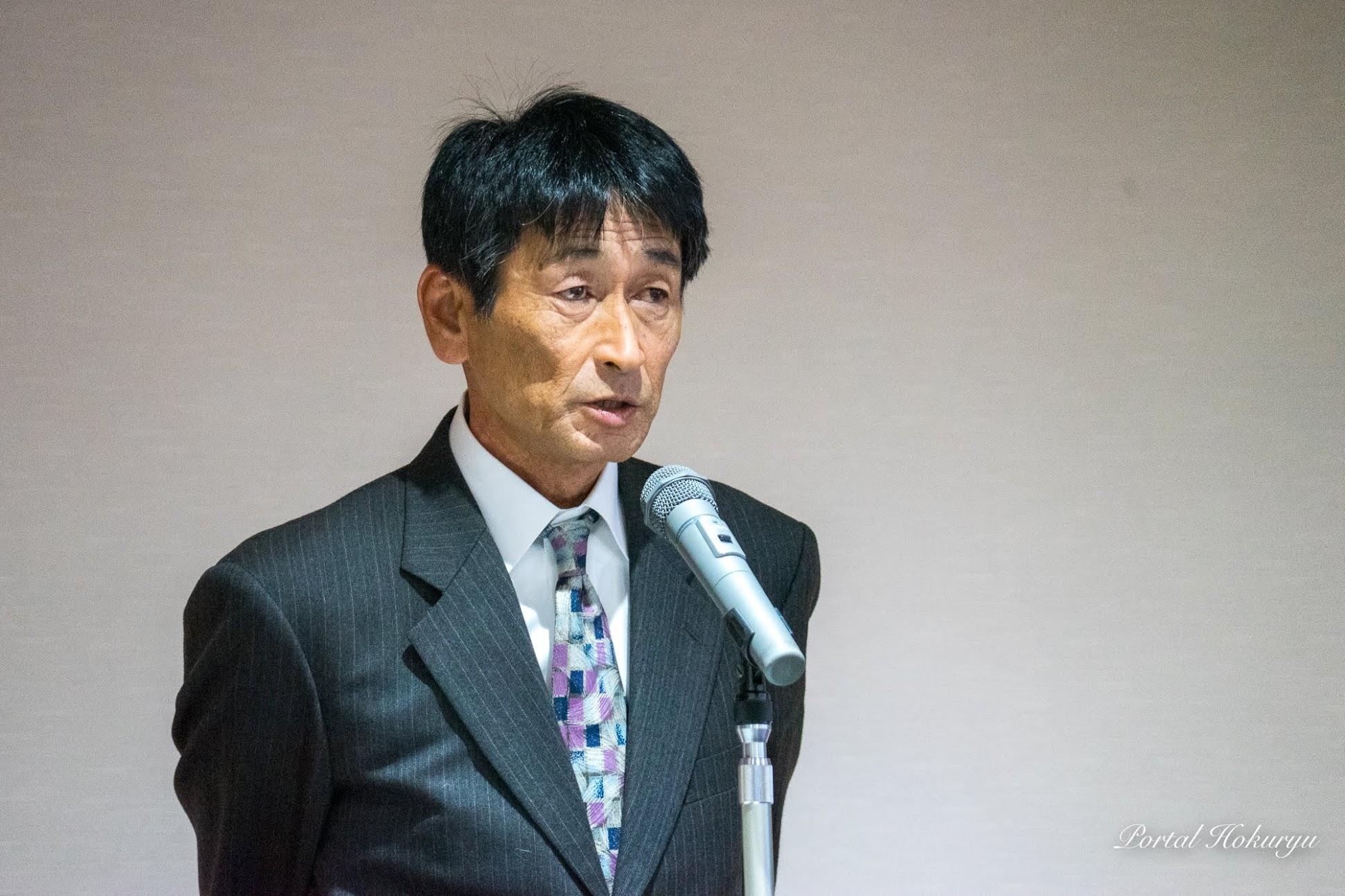 北竜メロン生産組合組合長 前田規文氏