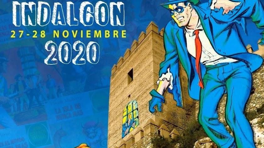 Detalle del cartel de las Jornadas Indalcon 2020.