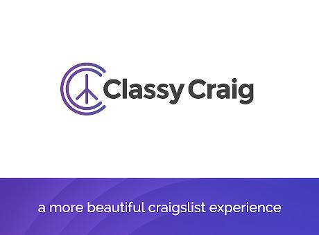 Classy Craig for craigslist