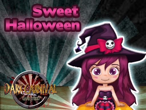Sweet Halloween Bubble Witch
