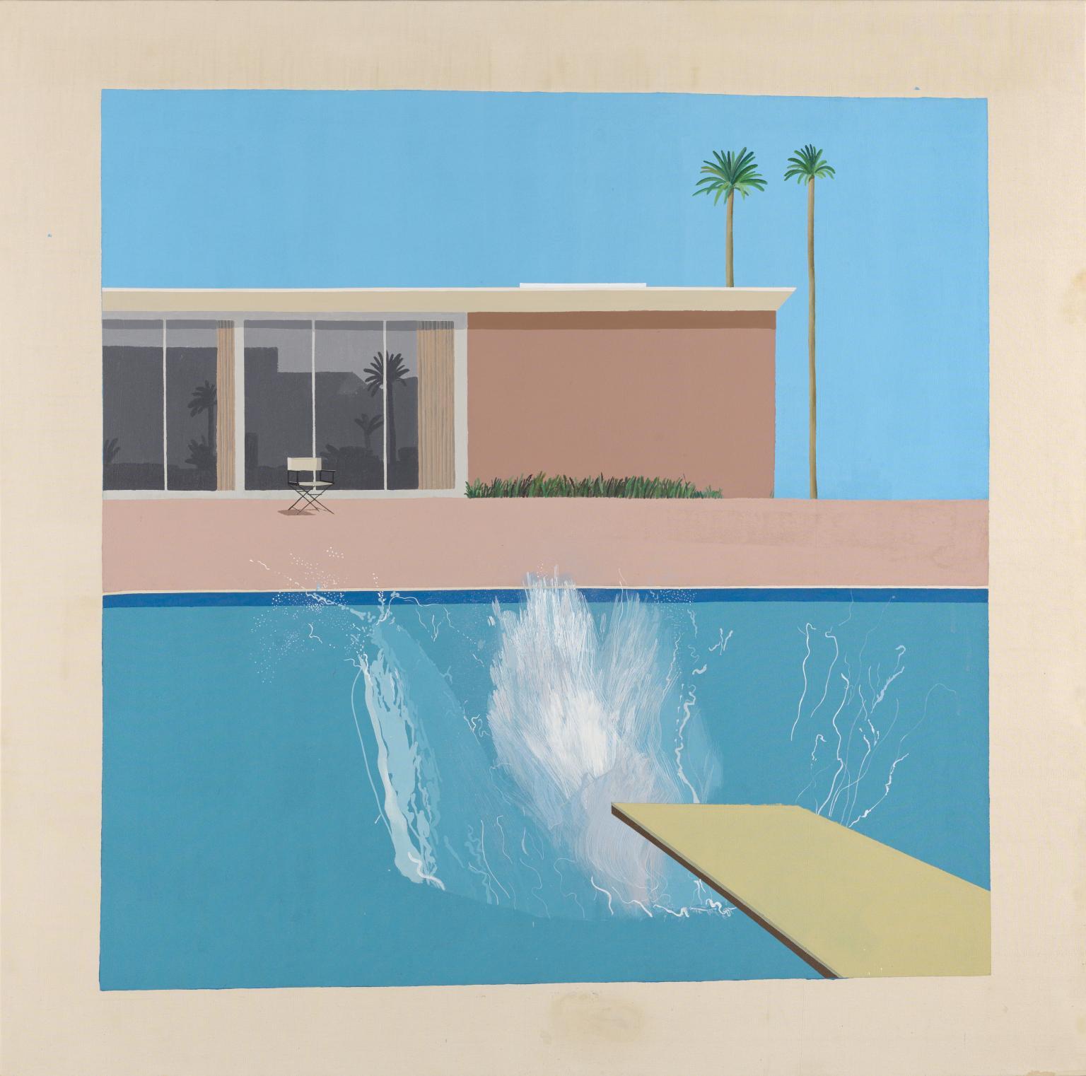 A Bigger Splash', David Hockney, 1967 | Tate