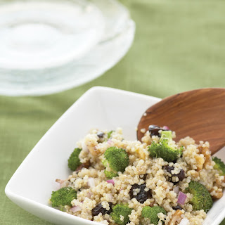 Cherry Walnut Quinoa Salad