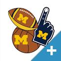 Michigan Wolverines PLUS Selfie Stickers icon