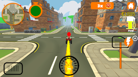 Racing Pizza Delivery Baby Boy 1.0 screenshot 11209