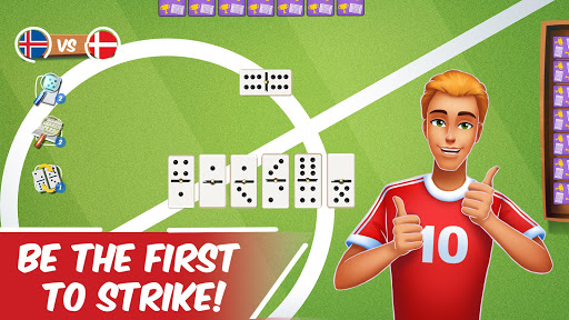 Dominoes Striker: Play Domino with a Soccer blend 2 screenshots 2