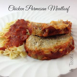 Chicken Parmesan Meatloaf.