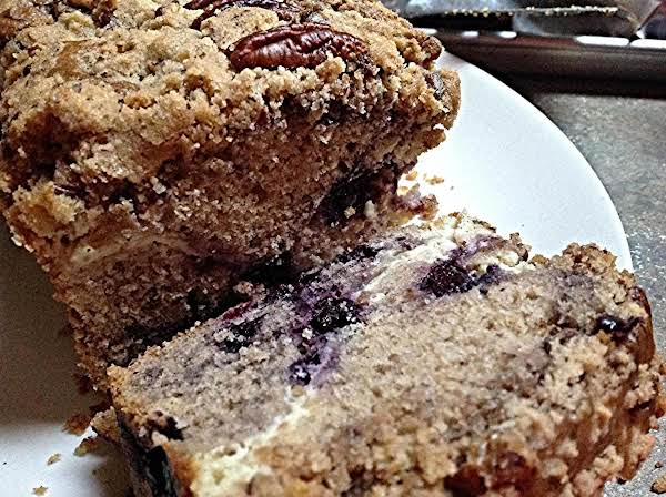 Nor M's Inspired Blueberry Cheesecake Bread