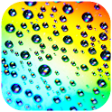 Colorful Raindrops Waterdrops icon