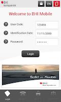 Screenshot of BHI Mobile
