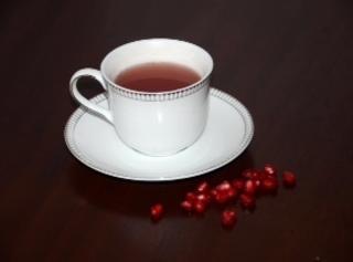 Hot Pomegranate Tea Recipe