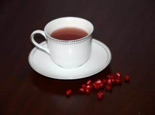 Hot Pomegranate Tea