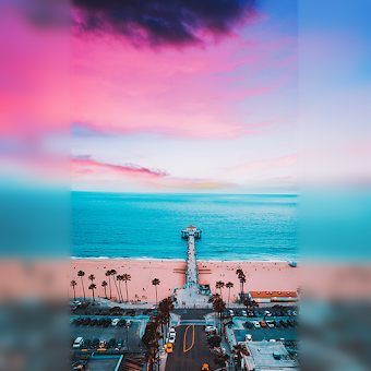Square Pic - Blur Image Background Sparkle Camera