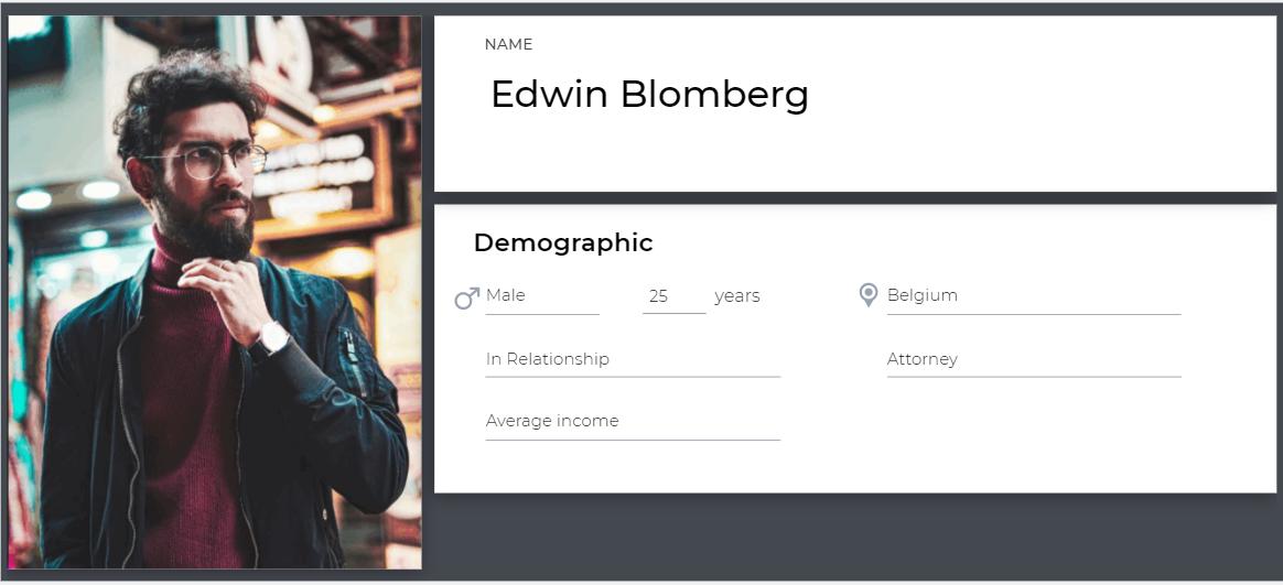 Customer Profile Template 1