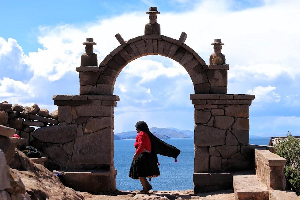 Jezioro Titicaca, wyspa Taquile