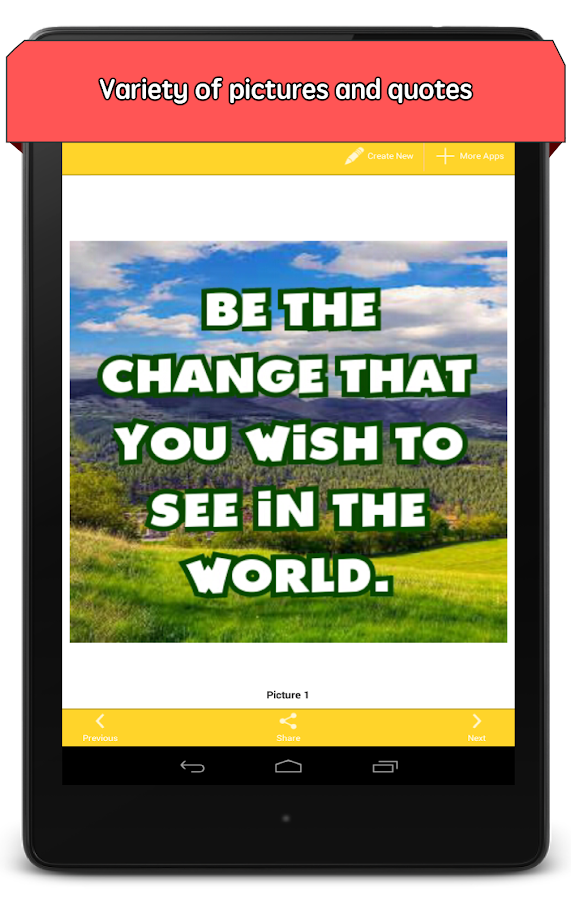Beautiful Pictures with Quotes - screenshot