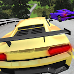 Extreme Sports Car Driving Icon