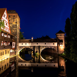 by Norma Brandsberg - Buildings & Architecture Bridges & Suspended Structures