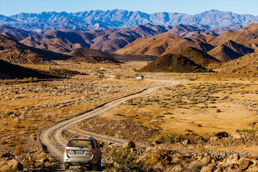 The Richtersveld is strictly 4x4 territory.