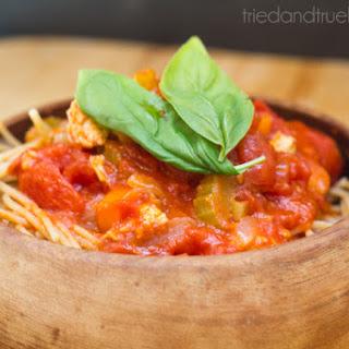 San Marzano Spaghetti - 30 Minute Meal