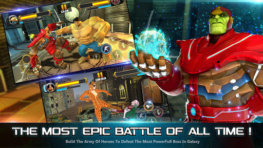 Superhero Fighting Games 3D - War of Infinity Gods 1.0 screenshots 4