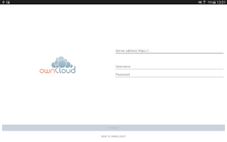 Screenshot of ownCloud