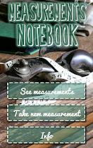 Measurements Notebook - screenshot thumbnail 01