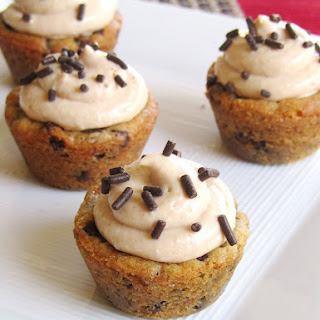 PEANUT BUTTER MOUSSE COOKIE CUPS.