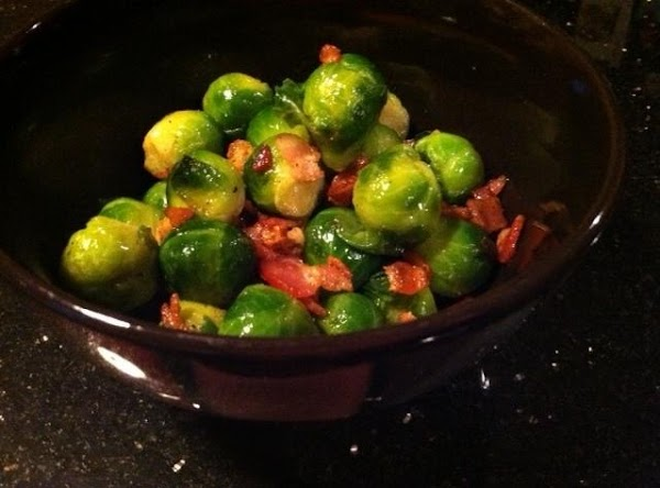 Brussel Sprouts N Bacon Recipe