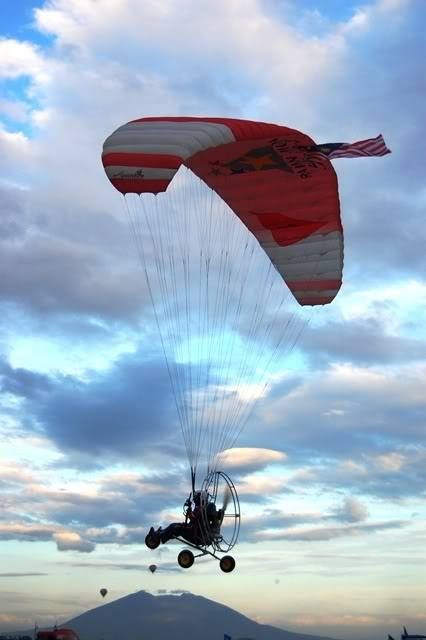 motorized parachute