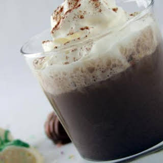 Dark Chocolate Cinnamon Easter Eggnog.