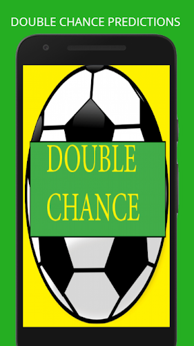 Double chance football prediction Android App Screenshot