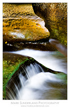 Photo: Waterfall, How Stean Gorge  This almost abstract composition caught my eye during a stroll through How Stean Gorge in Nidderdale, Yorkshire.  Canon EOS 5D, 25-105mm at 105mm, ISO 100, 6s at f22