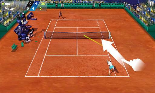 3D Tennis screenshot 3