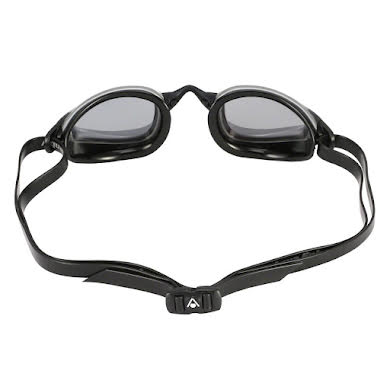 Michael Phelps K-180 Goggles: Silver/Black with Smoke Lens alternate image 1